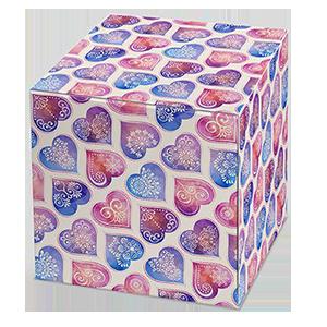 """Коробка для кружки """"С любовью"""""""