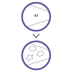 контурная резка А3 без материала
