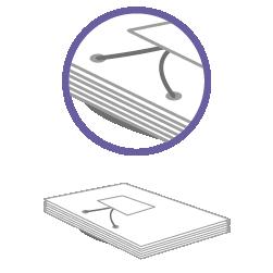 постпечатная обработка Продевание шнура