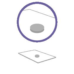 постпечатная обработка клейкая точка