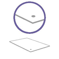 постпечатная обработка пробивка одного отверстия за один лист в плотном материале