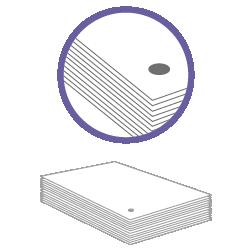 постпечатная обработка пробивка одного отверстия за 100 шт в картоне