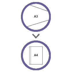 постпечатная обработка фальцовка А3 в А4