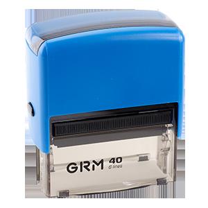 Оснастка автоматическая GRM 77х39 мм