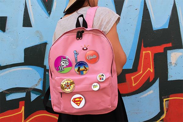 Значок вариант использования на рюкзак