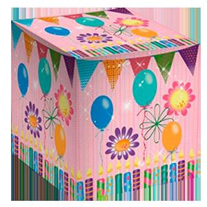 Коробка для кружки С днем рождения