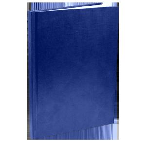 Твердый переплет - синяя обложка