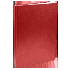 Твердый переплет - бордовая обложка