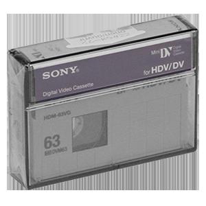 Оцифровка MiniDV HDV